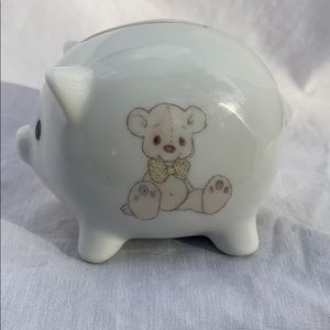 Precious Moments Mini Piggy Bank